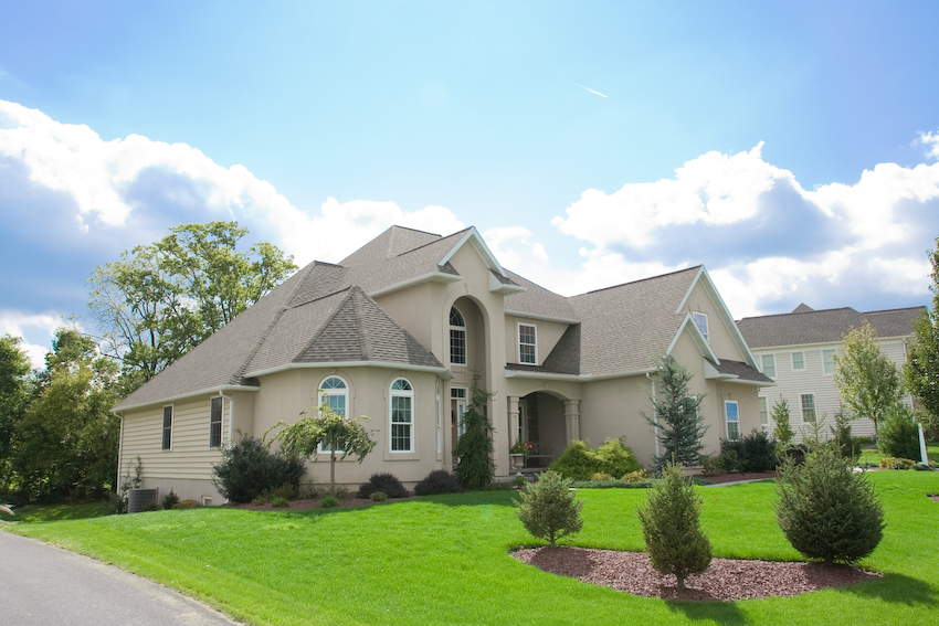 Custom homes gallery clyde stumpf and son - Two story gable roof houses ...